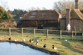Swan Street Barn and Hayloft are set within the grounds of a 15th century hall house, set in idyllic Kent countryside. It has been awarded 5 Stars and has achieved a Gold Award in Customer service.